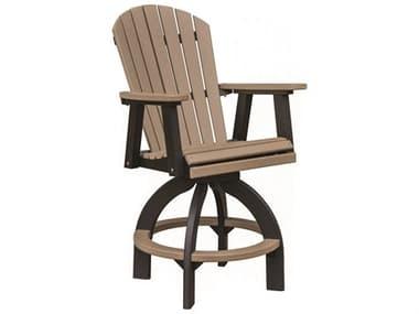 Berlin Gardens Comfo-Back Recycled Plastic Swivel Bar Chair BLGESBC2135