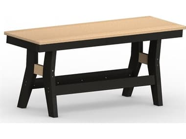 Berlin Gardens Harbor Recycled Plastic 44'' Bench Dining Height BLGHB4418D