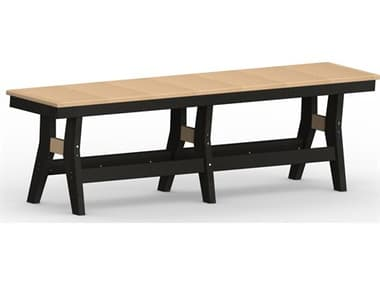 Berlin Gardens Harbor Recycled Plastic 66'' Bench Dining Height BLGHB6618D
