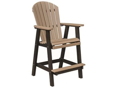 Berlin Gardens Comfo-Back Recycled Plastic Bar Chair BLGPEBC2135
