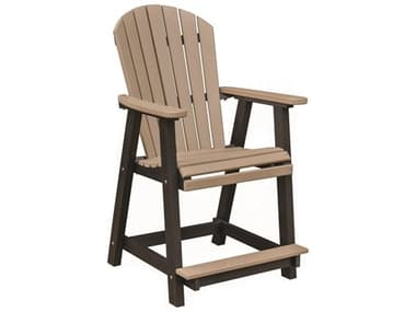 Berlin Gardens Comfo-Back Recycled Plastic Counter Chair BLGPECC2131