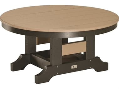 Berlin Gardens Accessories Recycled Plastic 38'' Wide Round Conversation Table BLGPRCT0018