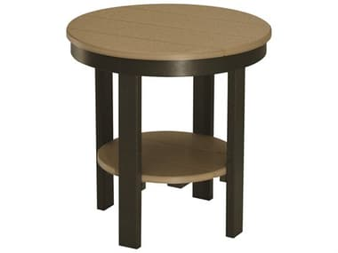 Berlin Gardens Accessories Recycled 22'' Wide Round End Table BLGPRET2122