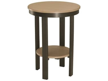 Berlin Gardens Accessories Recycled Plastic 22'' Wide Round Bar Table BLGPRET3222