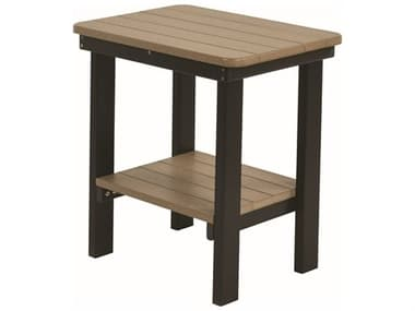 Berlin Gardens Accessories Recycled Plastic 21''W x 15''D Rectangular End Table BLGRTET2115