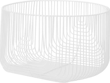 Bend Goods Outdoor White Basket BOO18BASKETWH