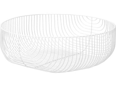 Bend Goods Outdoor White Basket BOO22BASKETWH