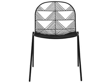 Bend Goods Outdoor Betty Black Metal Dining Chair BOOBETTYBLK