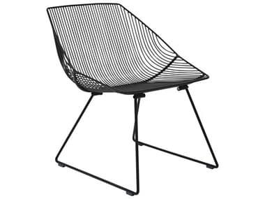 Bend Goods Outdoor Bunny Metal Lounge Chair BOOBUNNYBLK