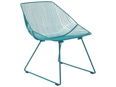 Bend Goods Outdoor Bunny Peacock Metal Lounge Chair BOOBUNNYPC