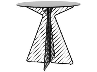 Bend Goods Outdoor Cafe Black 30'' Wide Round Bistro Table BOOCAFETABLEBK