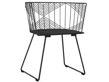 Bend Goods Outdoor Captain Metal Dining Chair BOOCAPTAINBLK