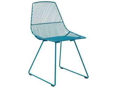 Bend Goods Outdoor Ethel Peacock Metal Dining Chair BOOETHELPC