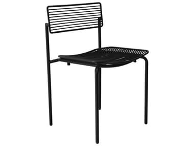 Bend Goods Outdoor Rachel Black Metal Dining Chair BOORACHELBLK