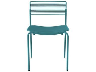 Bend Goods Outdoor Rachel Peacock Blue Metal Dining Chair BOORACHELPC