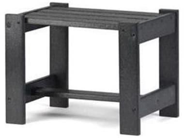 Breezesta Basics Recycled Plastic 19''W x 14''D Rectangular Chat Table BREBB103