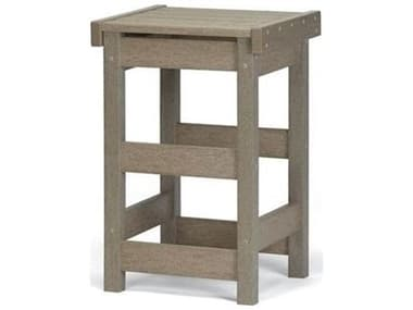 Breezesta Counter Recycled Plastic Flat Seat Counter Stool BRECH0803