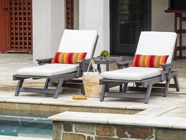 Breezesta Basics Recycled Plastic Chaise Lounge Set BRECHLBLNGET1