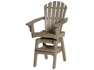 Breezesta Coastal Recycled Plastic Swivel Bar Chair BRECO0300