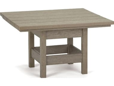 Breezesta Recycled Plastic 28''W x 26''D Rectangular Chat Table BRECT1104