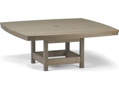Breezesta Recycled Plastic 42'' Wide Square Chat Table BRECT1107