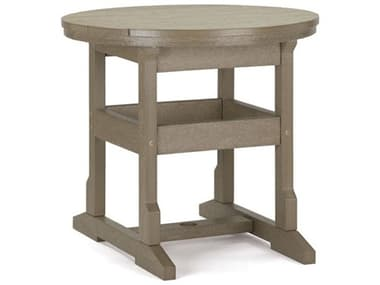 Breezesta Dining Recycled Plastic 32'' Wide Round Dining Height Table BREDH0702