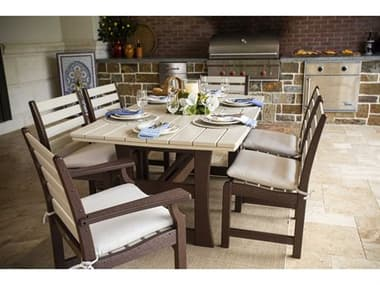 Breezesta Piedmont Recycled Plastic Dining Set BREPIEDMNTDINSET2