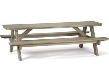 Breezesta Basics Recycled Plastic 8' Picnic Table BREPK130096