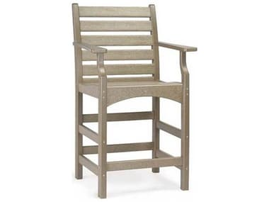 Breezesta Piedmont Recycled Plastic Captain's Counter Chair BREPT0507