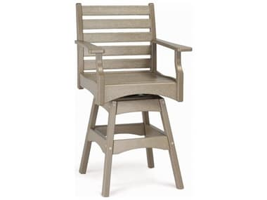 Breezesta Piedmont Recycled Plastic Arm Swivel Bar Chair BREPT0603