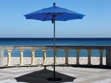 California Umbrella Venture Series 7.5 Foot Octagon Market Aluminum Umbrella with Push Lift System CAALTO758