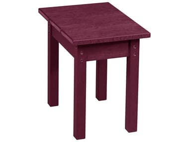 Captiva Casual Recycled Plastic 18 Square End Table CAPTX01