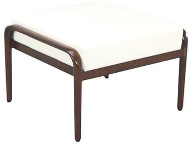 Cast Classics Presidio Cast Aluminum Cushion Ottoman CC331227C