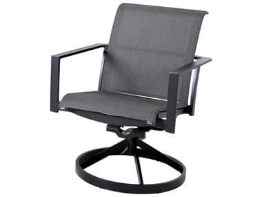 Cast Classics Coronado Sling Aluminum Swivel Rocker Dining Arm Chair CC348013SL