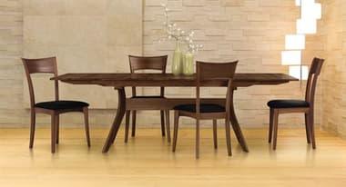 Copeland Furniture Audrey 72''-96''L x 38''W Rectangular Trestle Extension Dining Table CF6AUD21