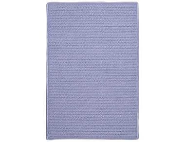 Colonial Mills Simply Home Solid Rectangular Amethyst Area Rug CIH533RGREC