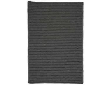 Colonial Mills Simply Home Solid Rectangular Gray Area Rug CIH661RGREC