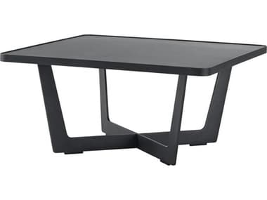 Cane Line Outdoor Time Out Aluminum Small 28'' Wide Square Coffee Table CNO5021