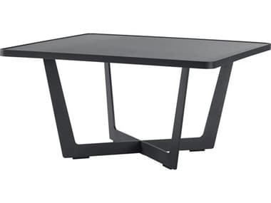 Cane Line Outdoor Time Out Aluminum Large 32'' Wide Square Coffee Table CNO5022