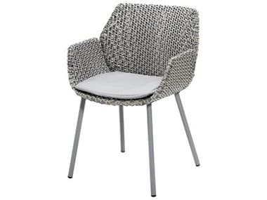 Cane Line Outdoor Vibe Aluminum Wicker Dining Arm Chair CNO5406
