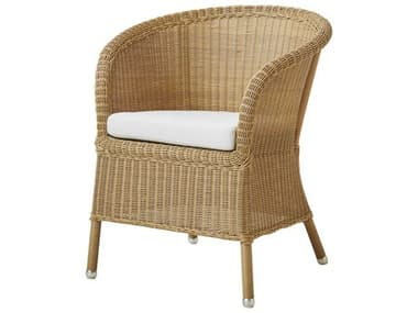 Cane Line Outdoor Derby Natural Wicker Dining Chair CNO5412U