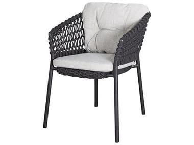 Cane Line Outdoor Ocean Aluminum Wicker Stackable Dining Arm Chair CNO5417