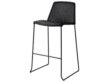 Cane Line Outdoor Breeze Aluminum Wicker Bar Side Chair CNO5465