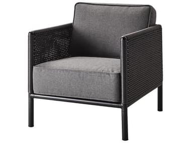 Cane Line Outdoor Encore Aluminum Wicker Cushion Lounge Chair CNO5470