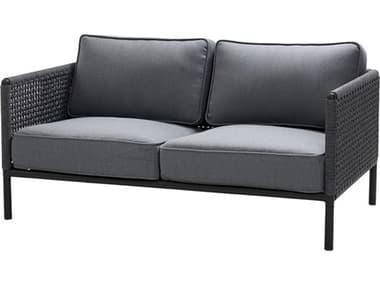 Cane Line Outdoor Encore Aluminum Wicker Cushion Sofa CNO5571