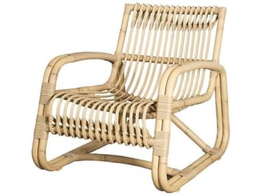 Cane Line Outdoor Curve Aluminum Wicker Lounge Chair CNO57402
