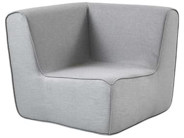 Cane Line Outdoor Grey Fabric Cushion Lounge Chair CNO6545MAILSL