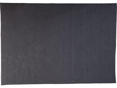 Cane Line Outdoor Circle Soft Rope Dark Grey 94''W x 67''D Rectangular Carpet CNO74170X240RODG