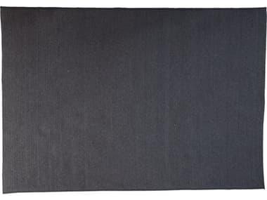 Cane Line Outdoor Circle Soft Rope Dark Grey 118''W x 78''D Rectangular Carpet CNO74200X300RODG