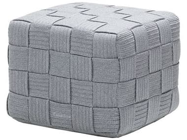 Cane Line Outdoor Cube Soft Rope Footstool CNO8340